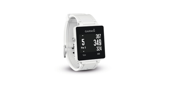 Garmin vivoactive GPS Sportuhr HRM Bundle weiss